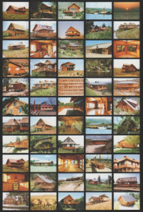 Portfolio Collection - Seaside wooden homes